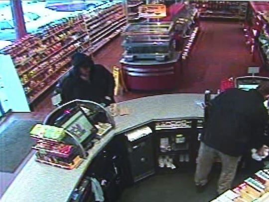 Video footage shows a man purchasing the mystery Hot