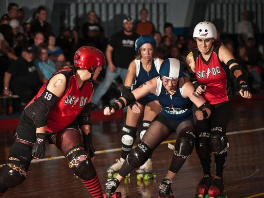 On Saturday at 5 p.m., the Springfield Roller Girls
