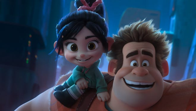 """Ralph and Vanellope's friendship is challenged in """"Ralph Breaks the Internet."""""""
