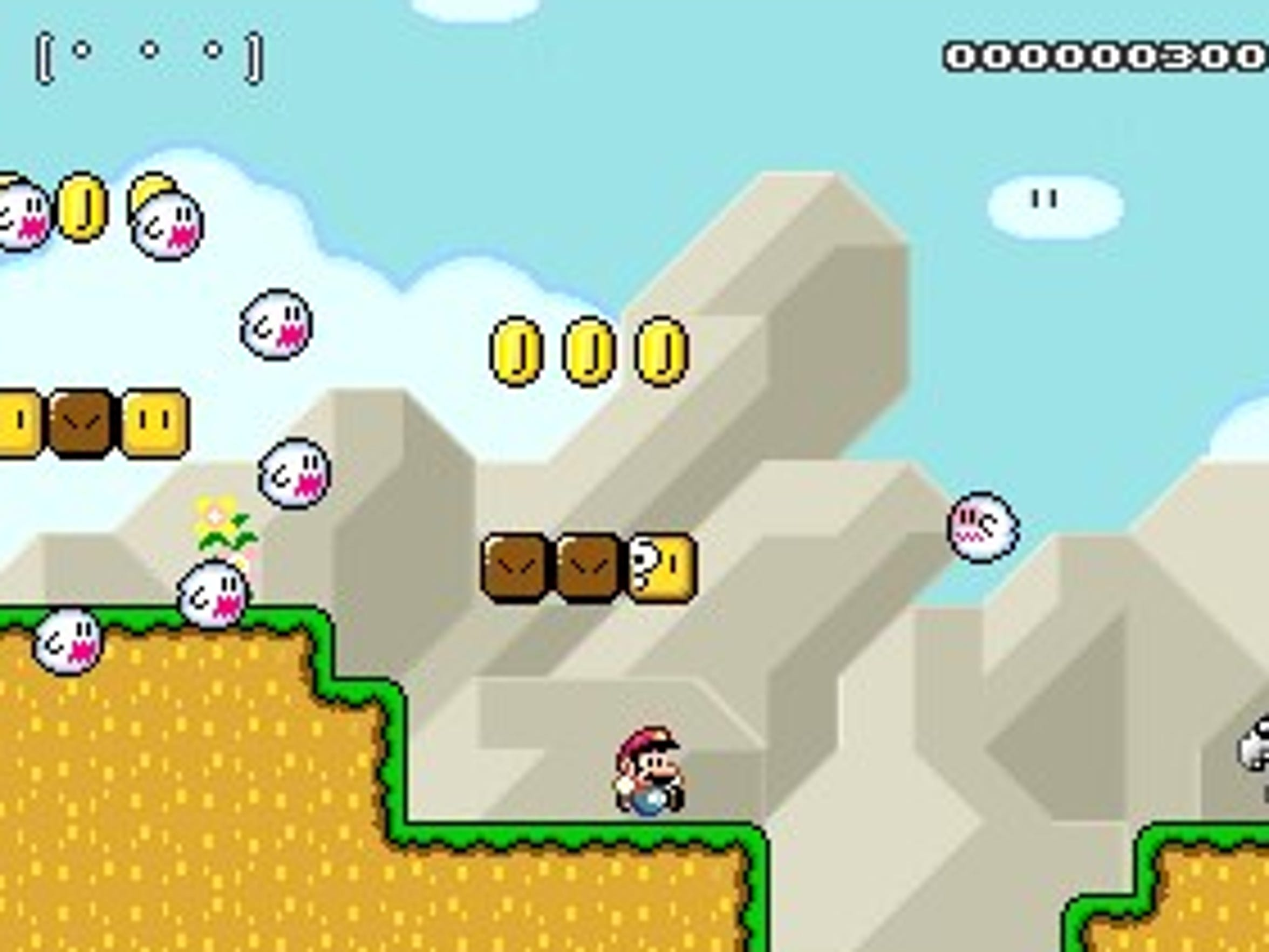 Super Mario Maker 3DS lets you design stages that look