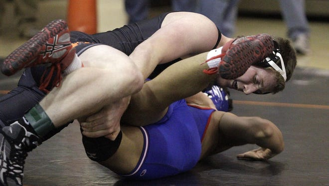 Johnny Meiman (160) is one of two returning state champions for Ryle, which finished seventh in the state last season.