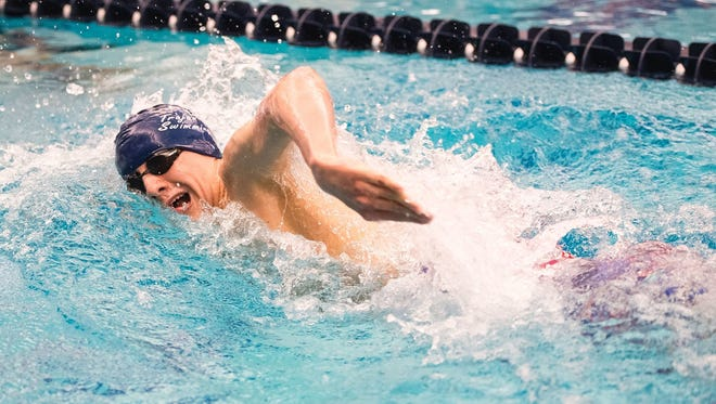 Chambersburg's Jacob Greenwood was selected as a 2017 All-American in the 500 freestyle