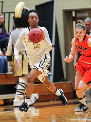Anderson senior forward Jasmine Franklin matched her career-high with 24 points versus Wingate on Saturday.