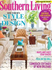 The cover of Southern Living's August edition, which