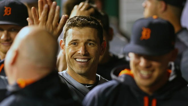 Tigers second baseman Ian Kinsler will likely be a key part of the team's offseason moves.