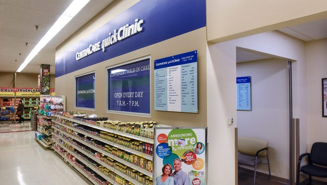 A new CentraCare quickClinic opened Wednesday, Nov. 1, at Cash Wise in Waite Park. The clinic is one of three planned to open in grocery stores owned by Coborns Inc.