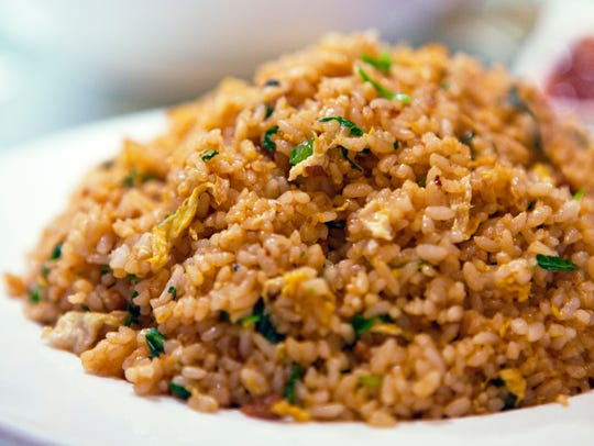 Since fried rice is prepared by boiling rice and later