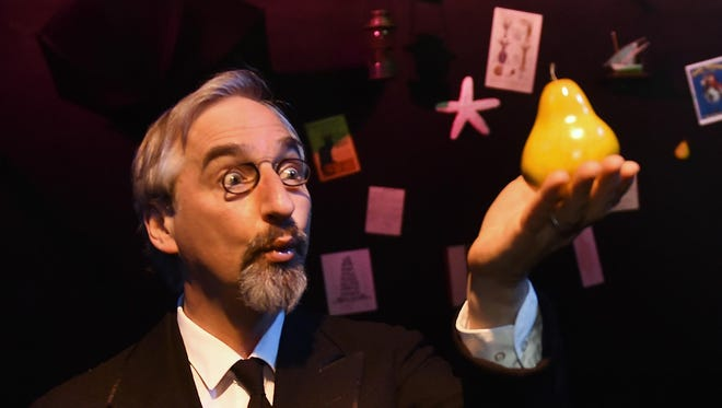 "Third Avenue Playhouse co-artistic director James Valcq created and performs ""Velvet Gentleman,'' a one-man play in which Valcq portrays the spirited mind and music of eccentric composer Erik Satie. ""Velvet Gentleman"" returns to TAP in December 2018."