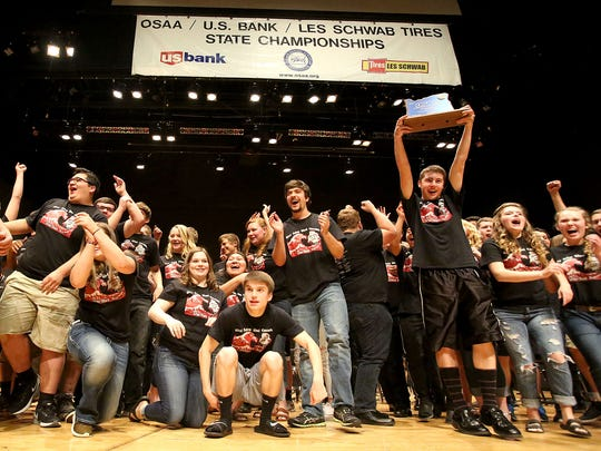 West Salem High School won the 2015 OSAA Band State Championship on Saturday, May 16, 2015. It was the Titan sixth outright state championship in a row.
