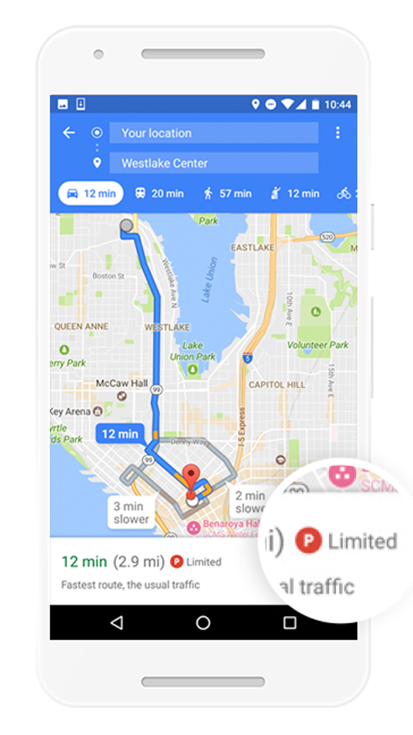 Google Maps update will save you from downtown parking headaches