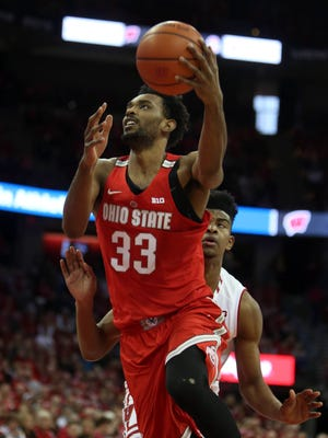 Ohio State forward Keita Bates-Diop was the Big Ten player of the year in 2017-'18.