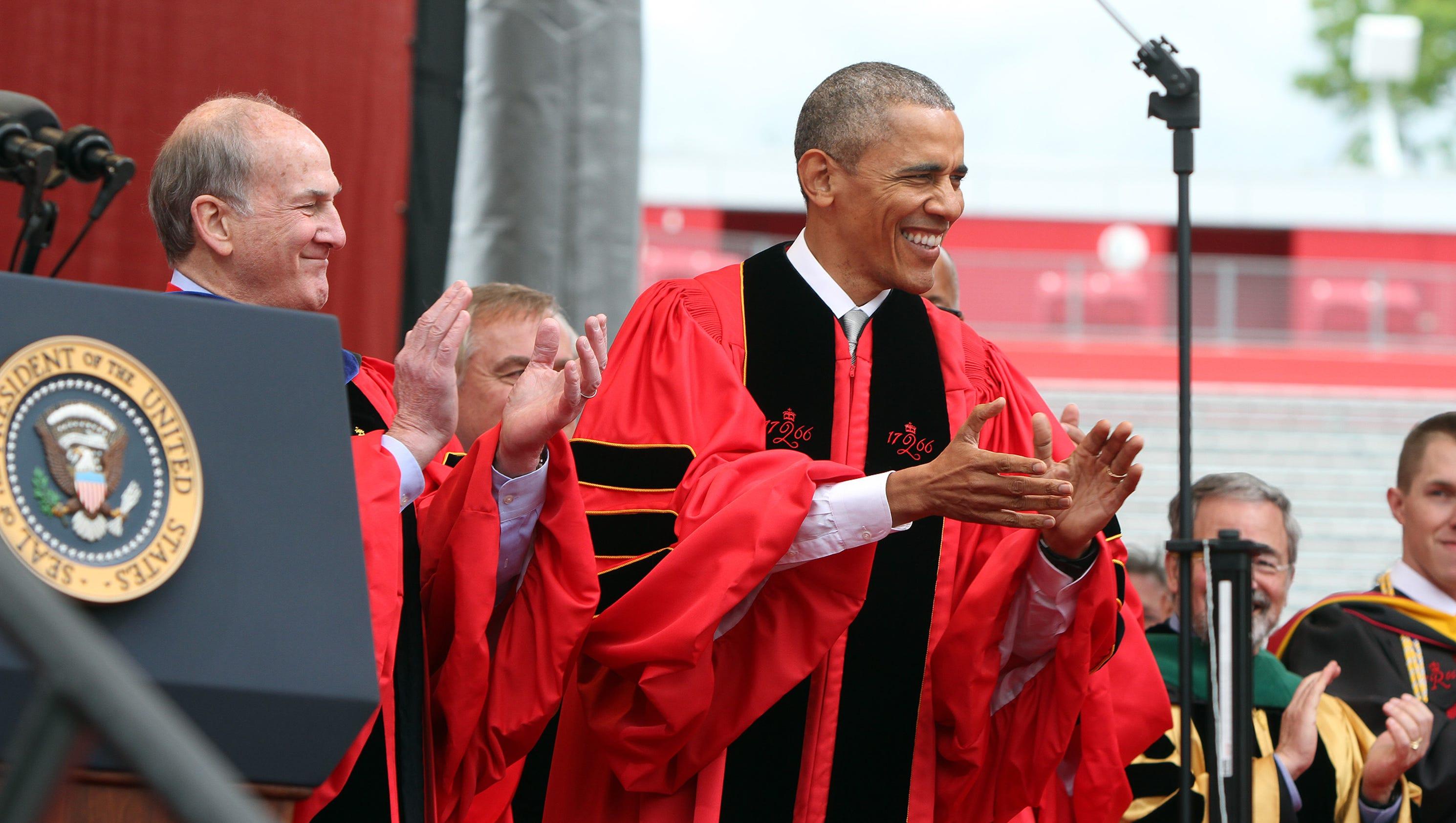 WATCH LIVE: 2016 Rutgers University Commencement