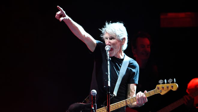 Roger Waters performs on day 3 of the 2016 Desert Trip music festival on Oct. 9 at Empire Polo Field in Indio, Calif.