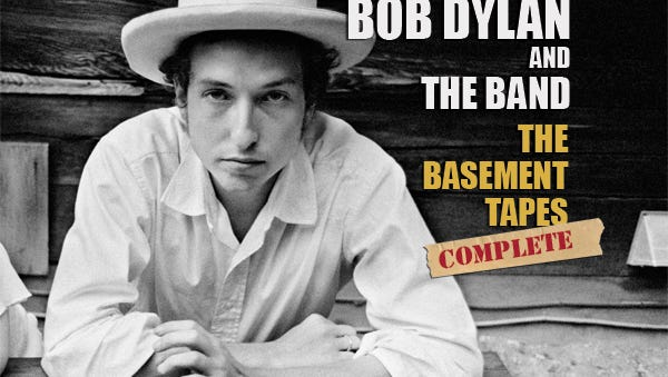 Bob Dylan, The Basement Tapes Complete, is one of Scott Hudson's favorite releases of 2014.