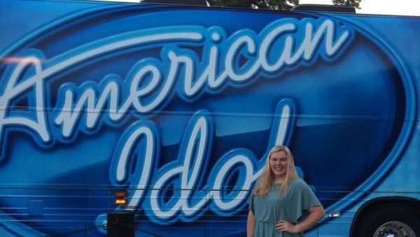 American Idol bus