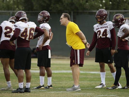 Arizona State Bowl Practice