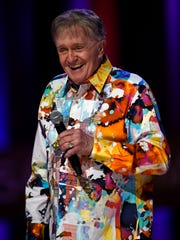 Bill Anderson performs at the Grand Ole Opry Tuesday Sept. 15, 2015, in Nashville, Tenn.