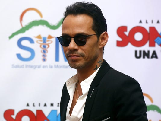 Marc Anthony gives Puerto Rico a pediatric unit for hurricane damnified