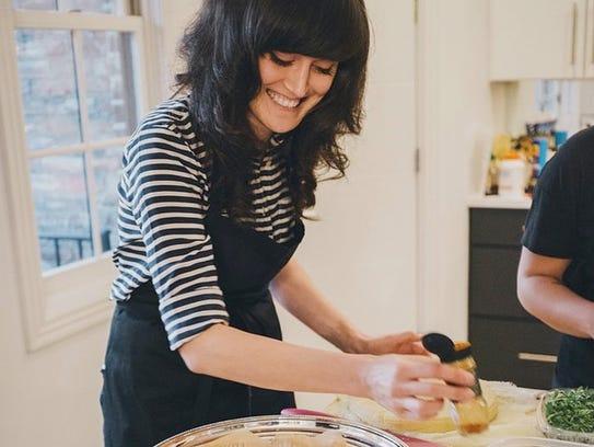 Chef Jess Rice will teach five raw foods classes.