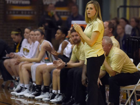 Central head coach Brittany Maners guided the Bears