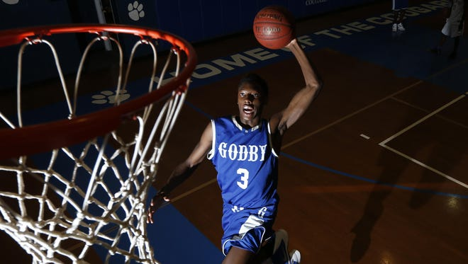 Godby's Quan Jackson averaged 13 points per game during the Cougars' 31-0 season in 2015, earning him All-Big Bend Co-Player of the Year with Rickards' Maurice Howard. This year, Jackson averaged 18 points per game and was the 2016 All-Big Bend Player of the Year outright.