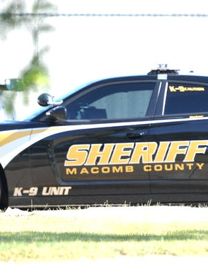 Macomb County Sheriff vehicle