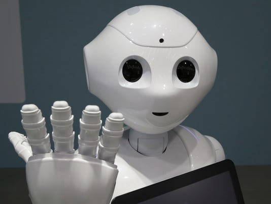 Japan Softbank Emotional Robot
