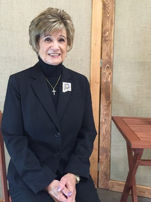 Betty Leonard was recently installed as the President of the New Mexico Hospital Association Hospital Volunteer Auxiliary Services Organization.