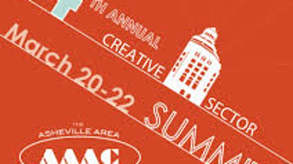 A poster from the Creative Sector Summit. The programming focused on arts and tourism.