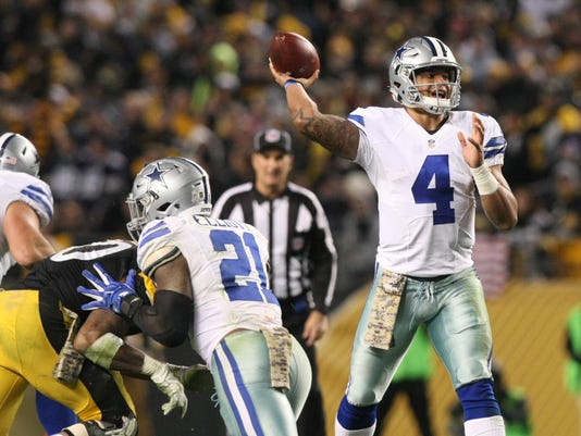 NFL: Dallas Cowboys at Pittsburgh Steelers