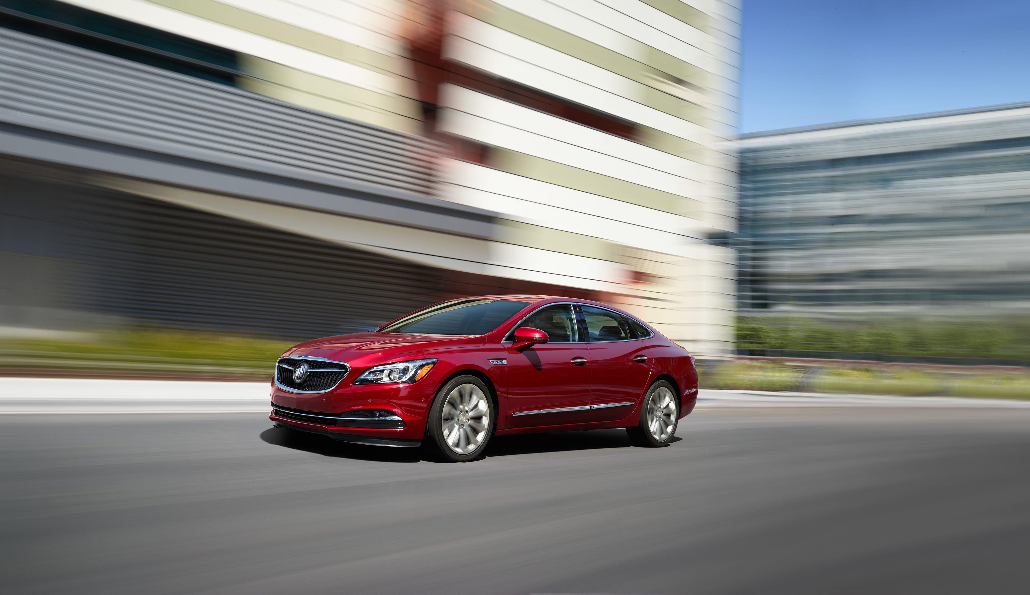 Buick LaCrosse: TTY Users