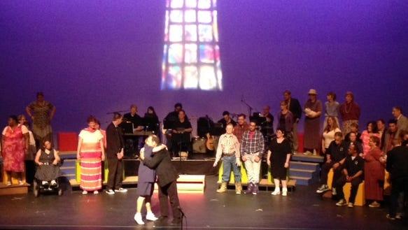 detour theater footloose show