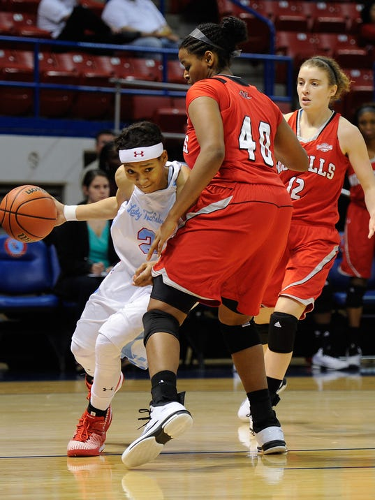 Lady Techster Basketball vs Nicholls State