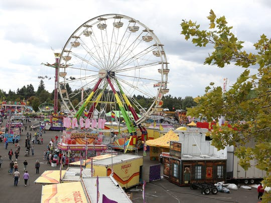 New this year, carnival contractor Rainier Amusements is bringing seven spectacular big rides for a total of 44 rides at the Oregon State Fair.