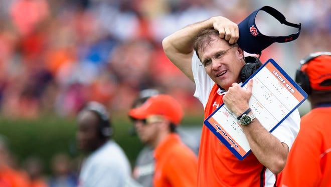 Auburn Tigers head coach Gus Malzahn has tough quarerback decision to make before Sept. 3 opener against Clemson.