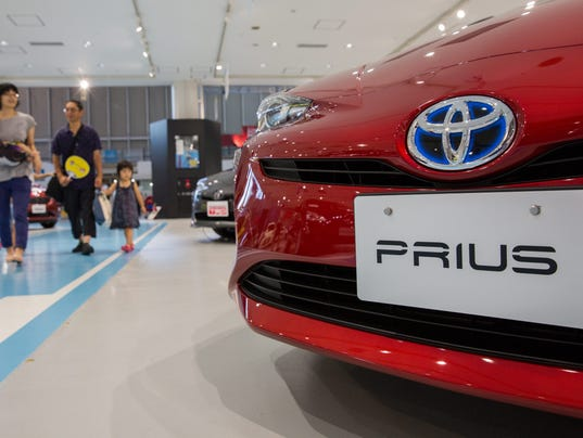 Toyota motor corporation recalls 340 000 hybrid prius cars for Toyota motor company usa