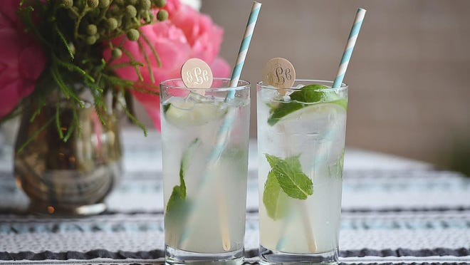 Mojitos, a traditional Cuban cocktail