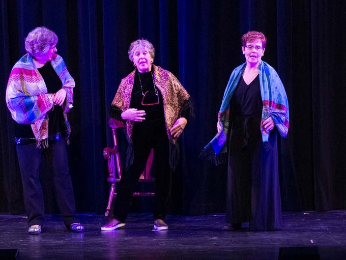A cast of 70 local people will perform OSHKOSH ON BROADWAY