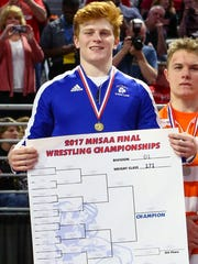 CC senior Ty Morland captured his second straight 171-pound