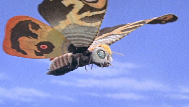 "A scene from ""Mothra,"" screening as part of the ""RiffTrax Live"" film series."