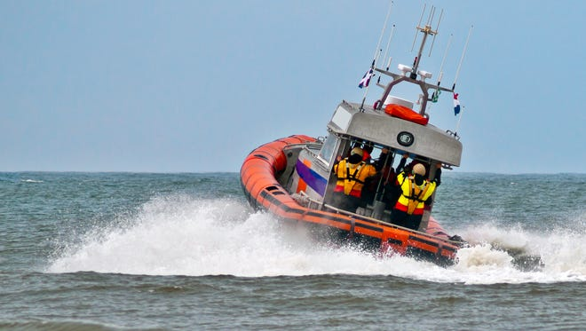 coastguard Lifeboat.