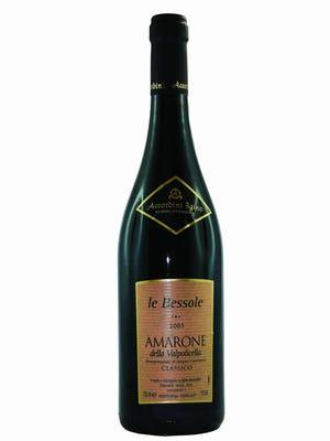 Le Bessole Amarone Della Valpolicella Classico, showing 2005 vintage.