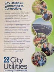 "City Utilities seems to think I'm ""wonderful."""