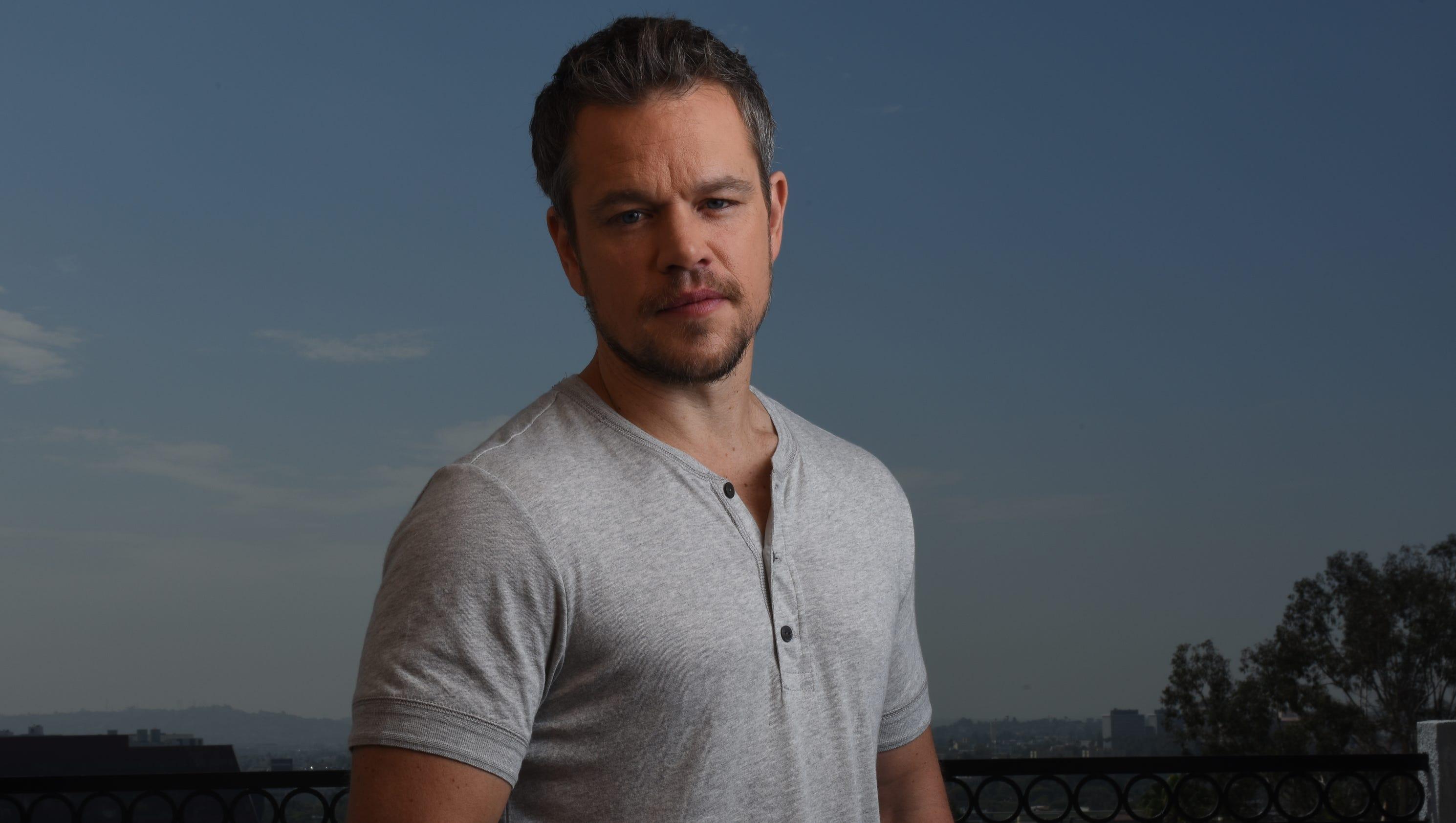 Matt Damon clarifies s...