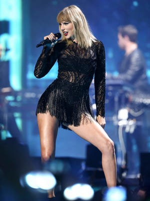 Taylor Swift will be at Gila River Arena in Glendale on May 8, 2018.