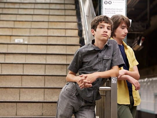 Michael Barbieri (left) and Theo Taplitz star in 'Little