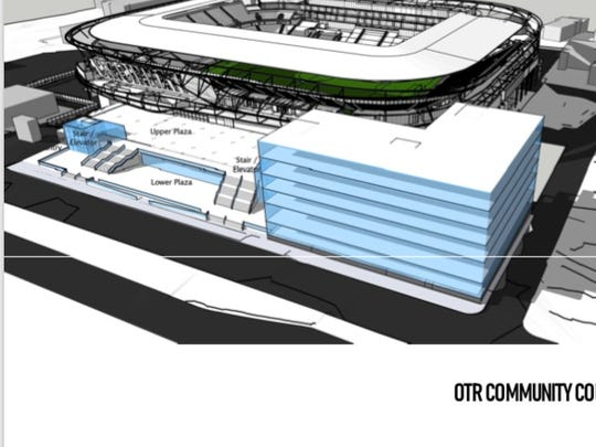 FC Cincinnati stadium, West End