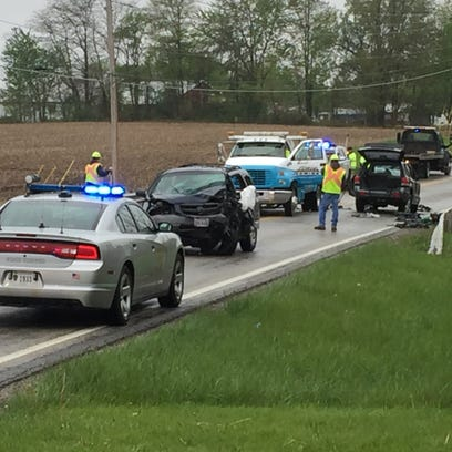 An Ohio Highway Patrol accident investigation unit
