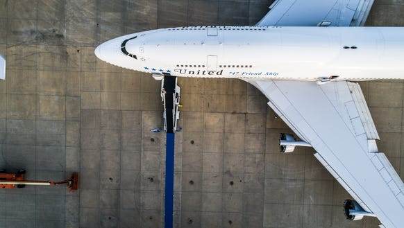 United's last-ever Boeing 747 to be used for revenue