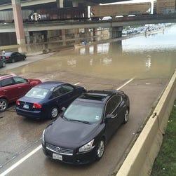Severe storms pound Texas